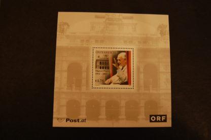 Österreich 2003 Block Marcel Prawy postfrisch   ANK. 2445