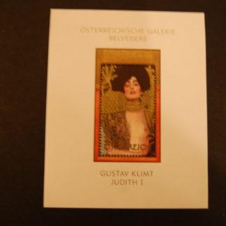 Österreich 2003 Berühmte Gemälde Gustav Klimt Block postfrisch Ank. 2483