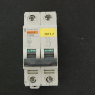 Merlin Gerin multi9  Sicherungsautomat C60H C16  1/N