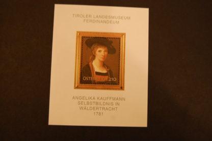 Österreich 2007 Berühmte Gemälde Angelika Kaufmann Block postfrisch ANK. 2696