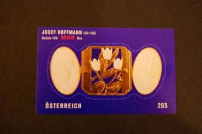 Österreich 2007 Josef Hoffmann Block postfrisch ANK. 2711
