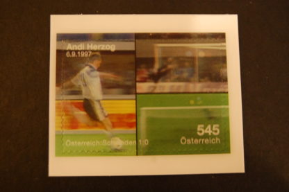 Österreich 2008 UEFA Block EURO 2008 Andreas Herzog postfrisch ANK. 2757