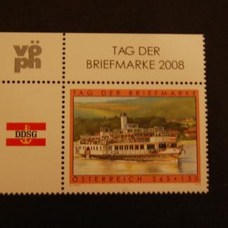 Österreich 2008 Tag der Briefmarke  postfrisch ANK 2799