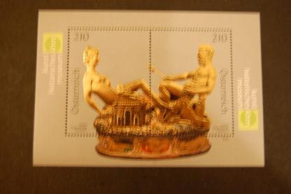 Österreich 2009 Saliera Kunsthistorisches Museum Block postfrisch ANK 2815 - 2816