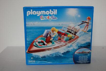 PLAYMOBIL 9428 Motorboot mit Unterwassermotor