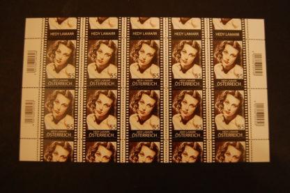 Österreich 2011 Ö. in Hollywood Hedy Lamarr Kleinbogen postfrisch ANK 2940