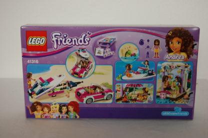 LEGO Friends 41316 Andreas Rennboottransporter