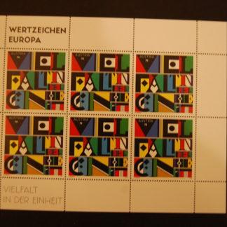 Österreich 2013 Kleinbogen Wertzeichen Europa postfrisch ANK. 3076