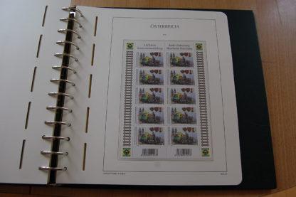 Österreich Briefmarkensammlung Von 2002 - 2012 postfrisch im Vordruckalbum