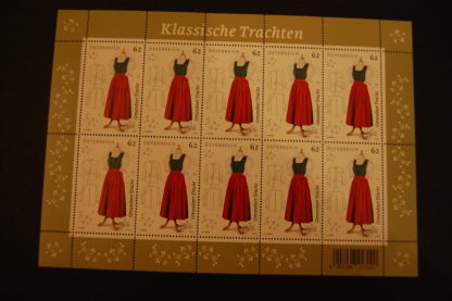 Österreich 2013 Kleinbogen Klassische Trachten postfrisch ANK. 3117