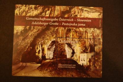 Österreich 2013 Block Adelsberger Grotte postfrisch ANK. 3087