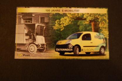 Österreich 2013 Block Postfahrzeuge postfrisch ANK. 3099