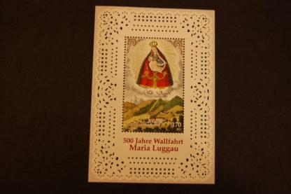 Österreich 2013 500 J. Wallfahrt Maria Lugau Block postfrisch ANK. 3106
