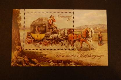 Österreich 2013 Block Historische Postfahrzeuge postfrisch ANK. 3126