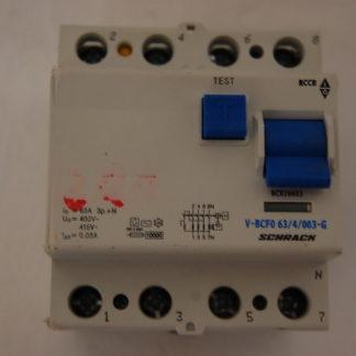 Schrack FI Schutzschalter V-BCF0 63/4/003-G