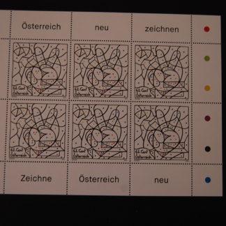 Österreich 2014 Österreich neu zeichnen Kleinbogen postfrisch ANK. 3144
