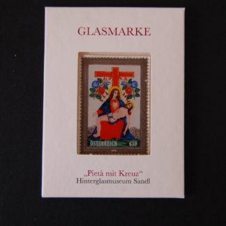 Österreich 2016 Glasmarke Pieta mit Kreuz ANK. 3303