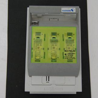 M.Schneider Multibloc 160A 690V Sicherungslasttrennschalter inkl. Sicherungen 3x 40A