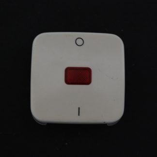 Busch und Jäger Wippe creme mit rotem Symbol und  0-1  2508-21