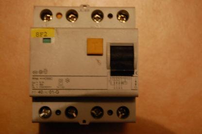F&G  FI  Schutzschalter  F7 - 40/4/01 -G