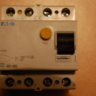 Eaton FI Schutzschalter PFIM - 40/4/003