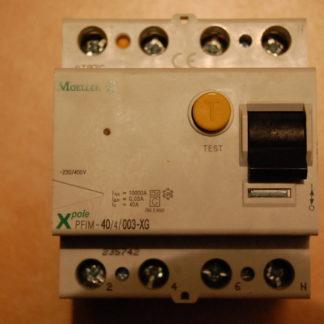 Moeller FI Schutzschalter PFIM 40/4/003 XG