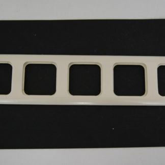 Busch und Jäger 5fach Rahmen beige 2515-21