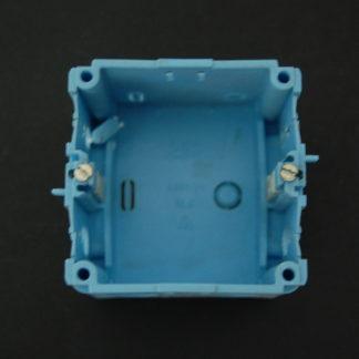 Kabelkanal Geräteeinbaudosen Blau
