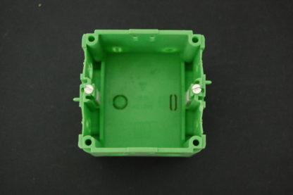 Kabelkanal Geräteeinbaudose grün