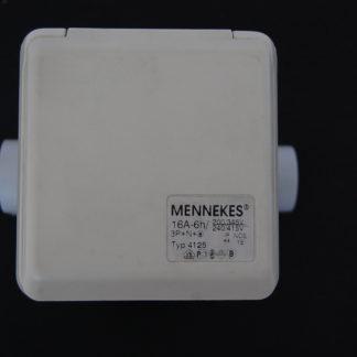 Mennekes Starkstromdose Typ 4125  16A Chremeweiß