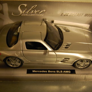 Mercedes Benz SLS AMG 1:24   Silver Collection