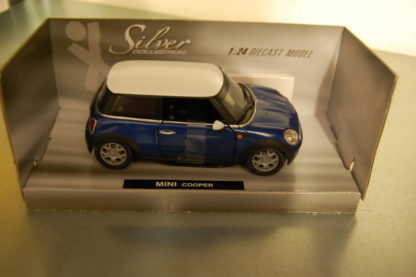 Modellauto Mini Cooper 1:24 Silver Collection