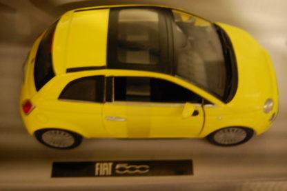 Modellauto Fiat 500  1:24 Silver Collection