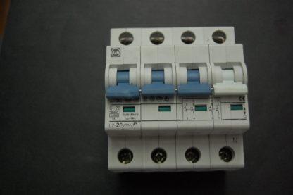 F&G Sicherungsautomat L7-20/3N C