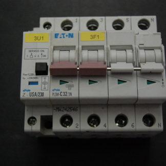 EATON PLSM - C32/3N Sicherungsautomat mit Unterspannungsauslöser Z-USA/230