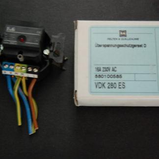 F&G  Überspannungsschutzgerät D 16A 230V AC VDK 280ES
