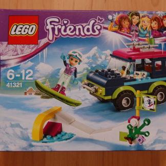 Lego Friends 41321 Geländewagen im wintersportort
