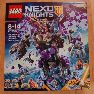 LEGO NEXO KNIGHTS 70356 Der stürmische Steinkoloss