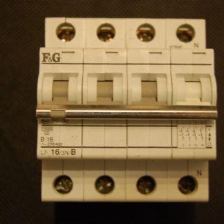F&G Sicherungsautomat  L7/16/3N/B