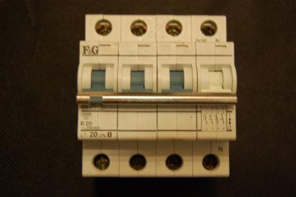F&G Sicherungsautomat L7/20/3N/B