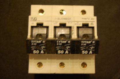 F&G Lastentrennschalter  Titan Schalter 3pol. 50A Z7-SLS/NEOZ