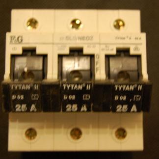 F&G Titan Schalter Lastentrennschalter  3pol. 25A Z7-SLS/NEOZ