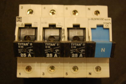 F&G Titan Schalter Lastentrennschalter  25A 3+N  Z7-SLS NEOZ