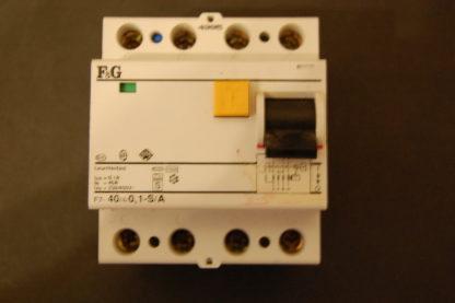 F&G FI Schutzschalter F7-40/4/01-S/A