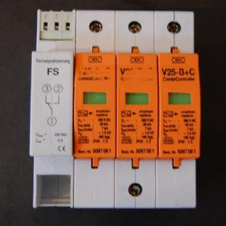 OBO Bettermann V25 - B+C Komiableiter  mit Fernsignalisierung