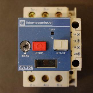 Telemecanique GV1-T-08 Motorschutzschalter 2,5 - 4 A