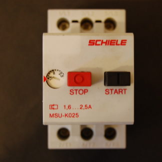 Schiele MSU K025 Motorschutzschalter 1,6 - 2,5