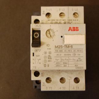 ABB M25-TM-6 Motorschutzschalter 4-6 A