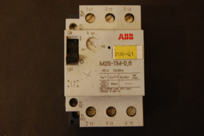 ABB M25-TM-0,6 Motorschutzschalter 0,4 - 0,6 A