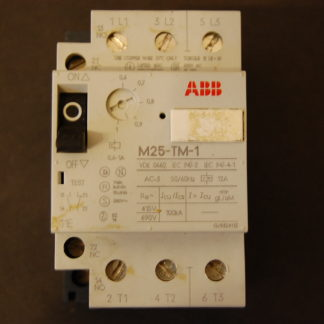 ABB M25-TM-1 Motorschutzschalter 0,6 - 1A